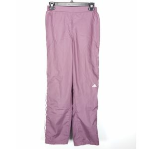 adidas Pants - Adidas Purple Mauve Straight Leg Track Pants